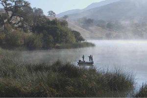 guided fishing trip on Alisal Lake - Alisal Resort in Solvang California