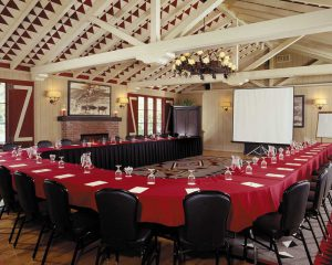 A meeting room at the Alisal Guest Ranch & Resort