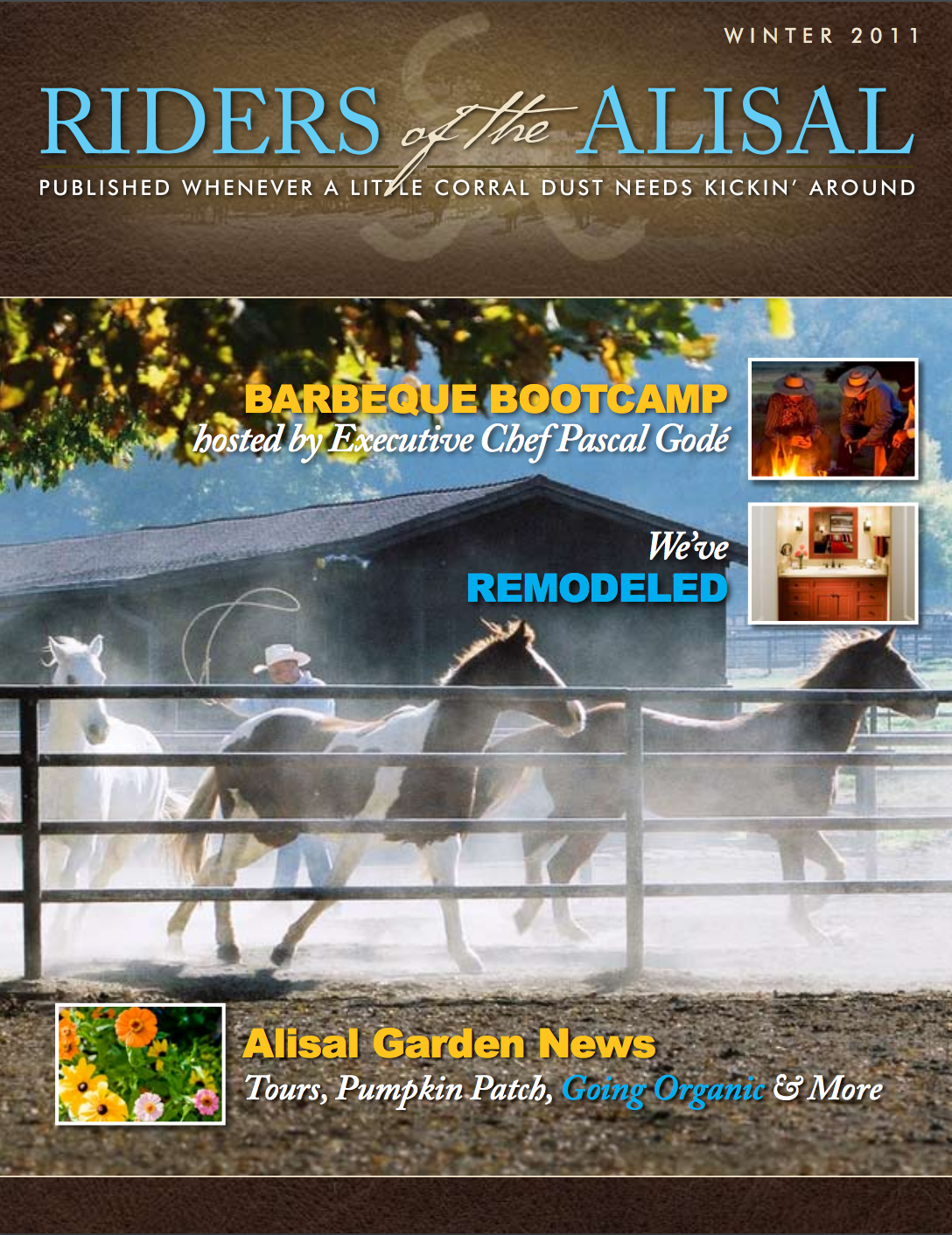 Riders of the Alisal 2011 winter issue - Alisal Guest Ranch and Resort