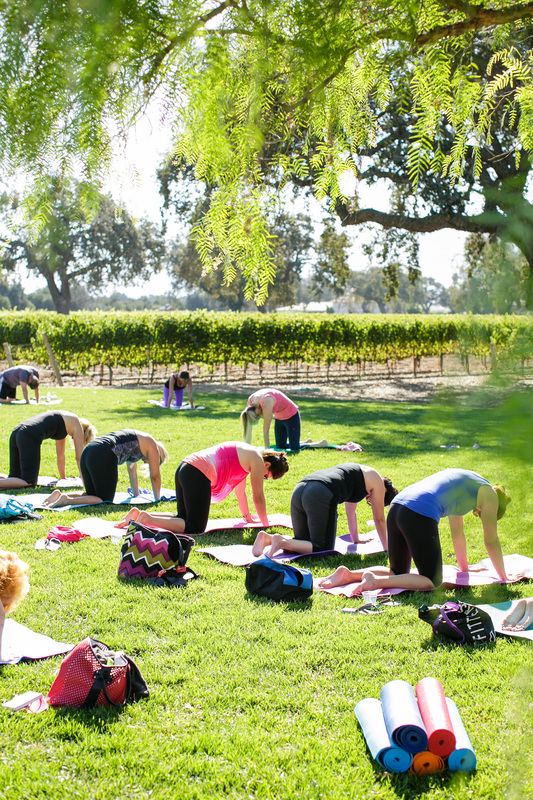 Alisal Guest Ranch and Resort - Vineyard yoga