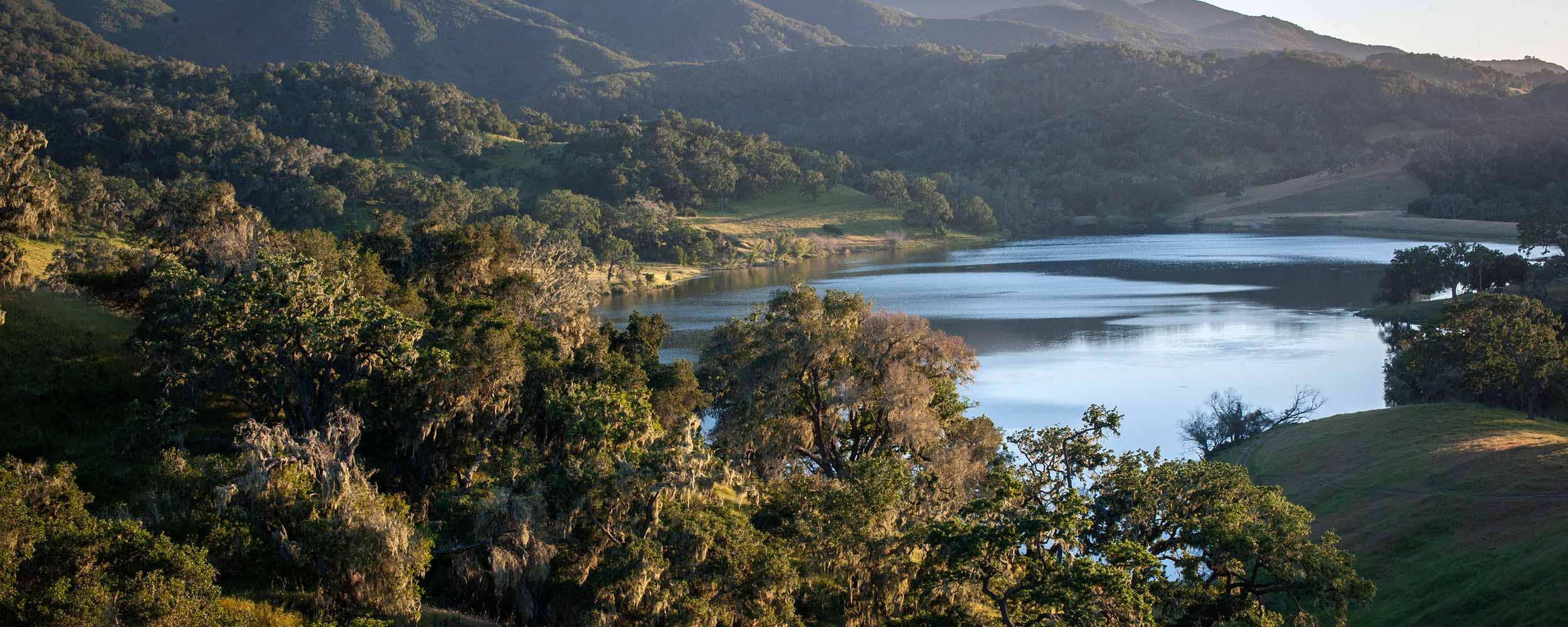 View of Alisal Lake - Alisal Resort in Solvang California