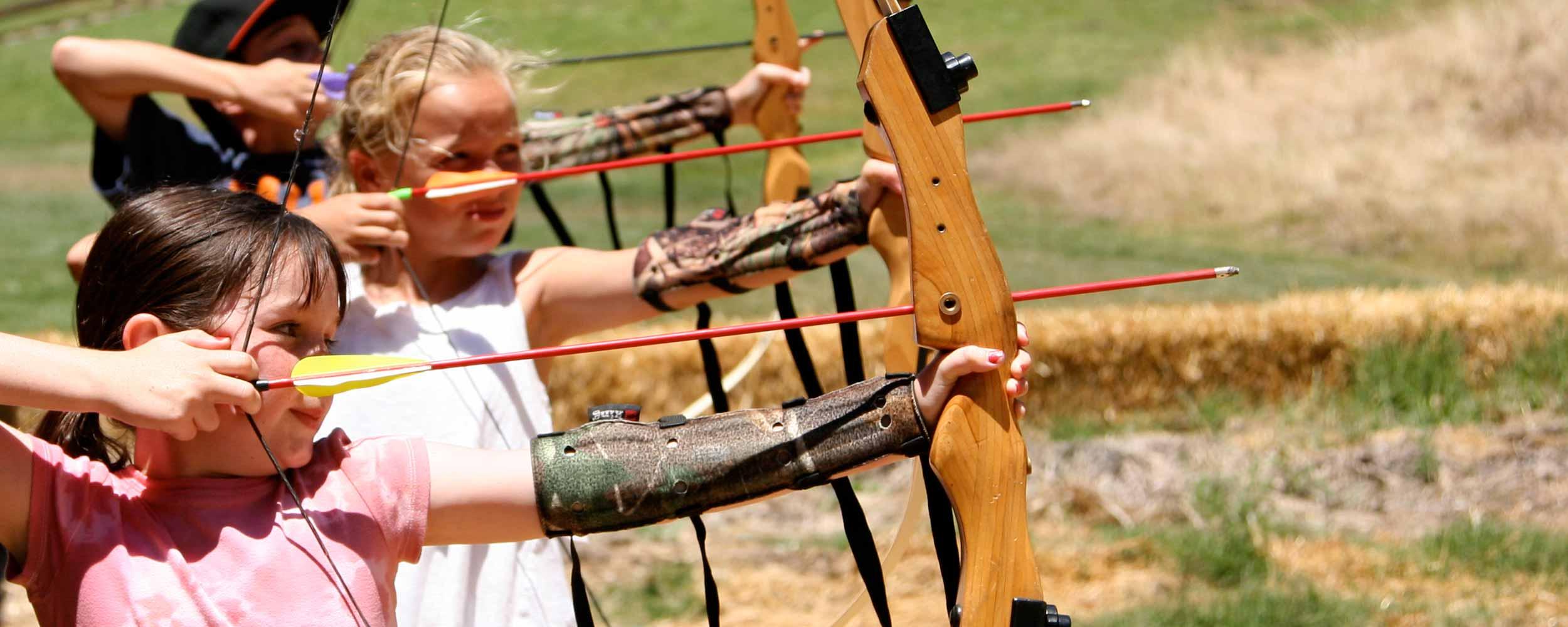 kids archery - Alisal Resort in Solvang California