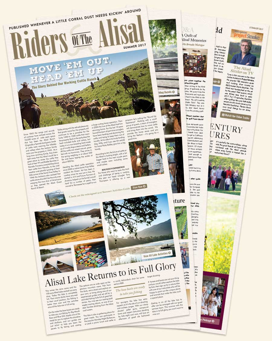 Summer 2017 Issue of Riders of the Alisal