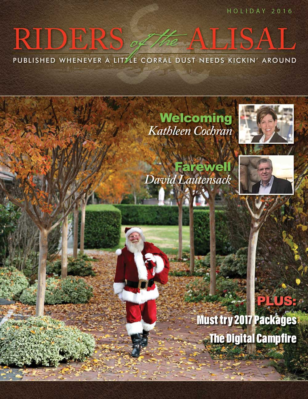 Riders of the Alisal 2016 Holiday Issue - Alisal Guest Ranch and Resort