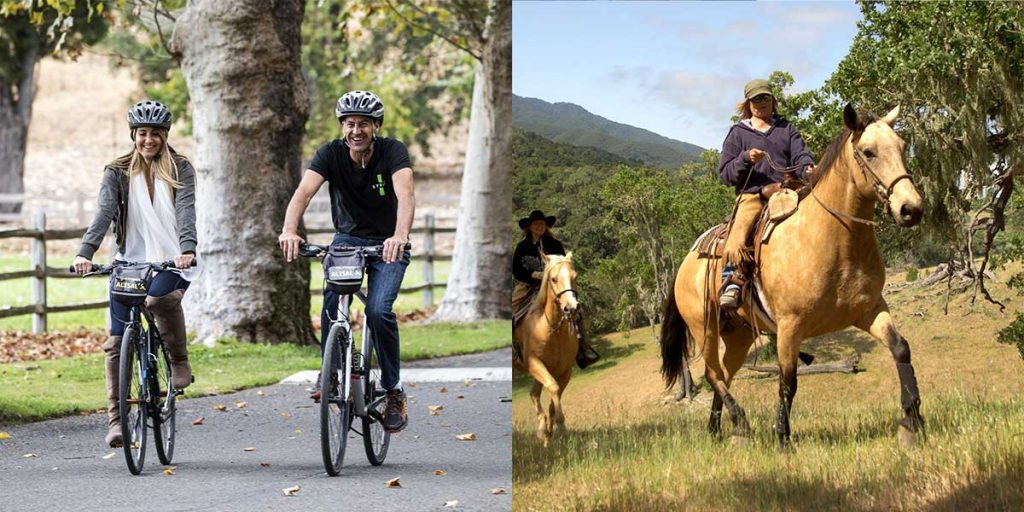 Horseback Riding & Cycling in the Santa Ynez Valley and Solvang