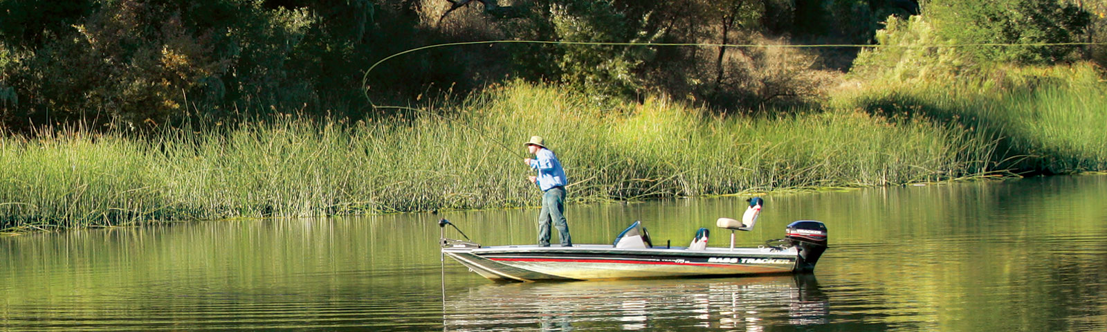 Fishing on Lake Alisal