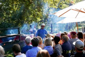 Learn the secrets of Santa Maria style Tri-tip and Barbecue at BBQ Bootcamp at The Alisal Guest Ranch & Resort