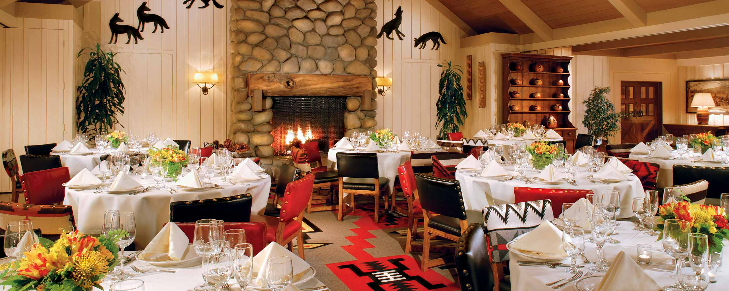 Alisal dining venue - Alisal Resort in Solvang California