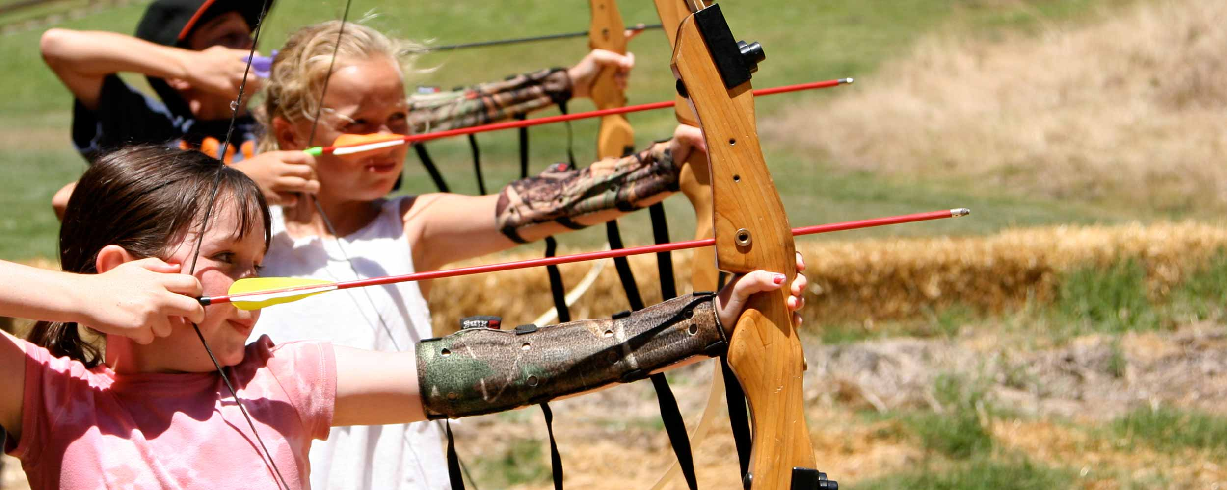kids archery - Alisal Resort in Solvang California