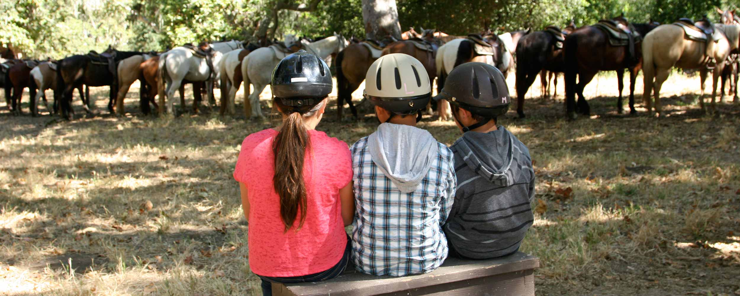 kids horseback riding - Alisal Resort in Solvang California