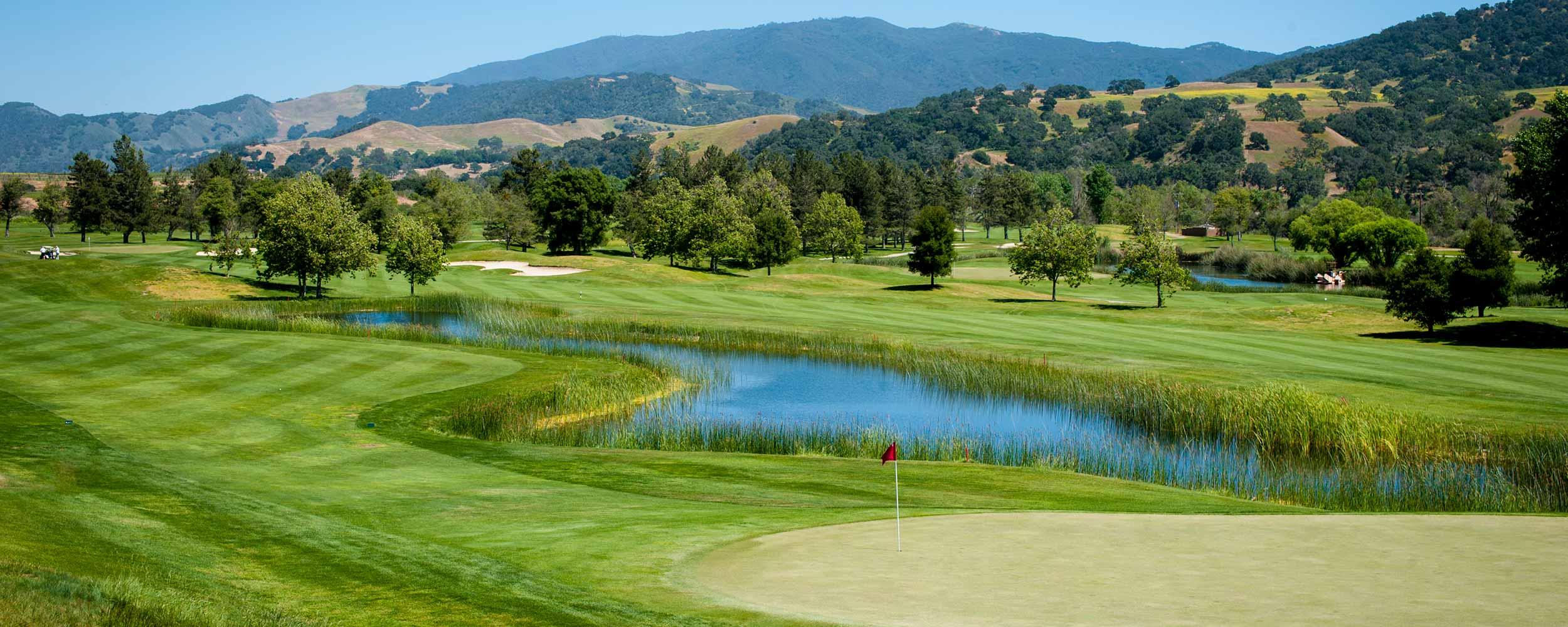 golfing the Alisal River Course - Alisal Resort in Solvang California