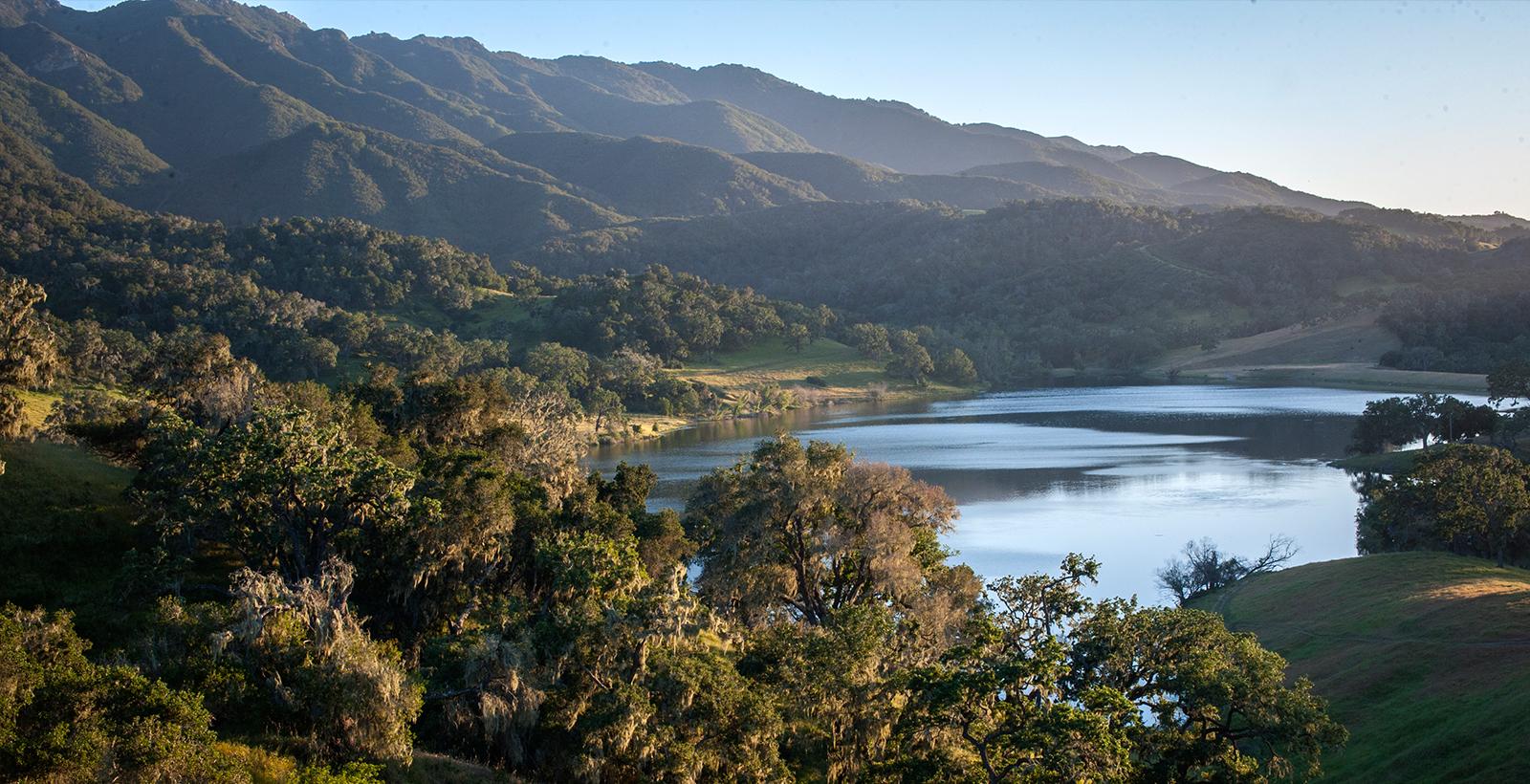 Lake Alisal in the Santa Ynez Valley