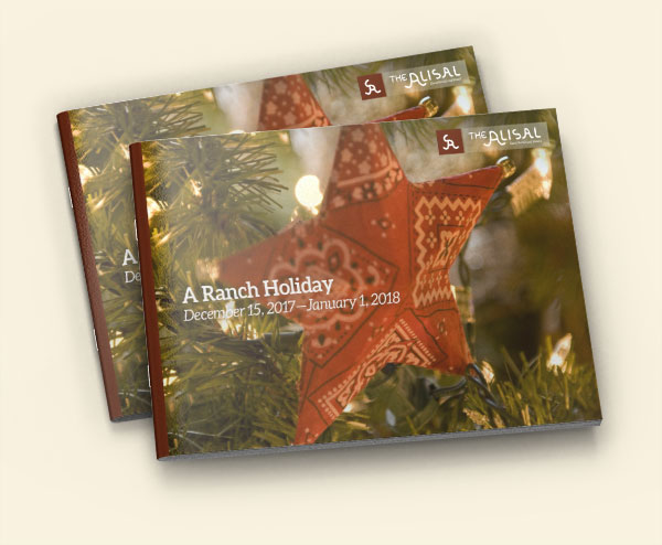 2017 Holiday Activities Guide - Alisal Guest Ranch and Resort