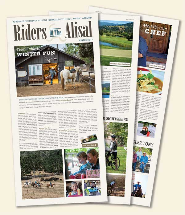 Riders of the Alisal – Winter 2017/2018 Issue