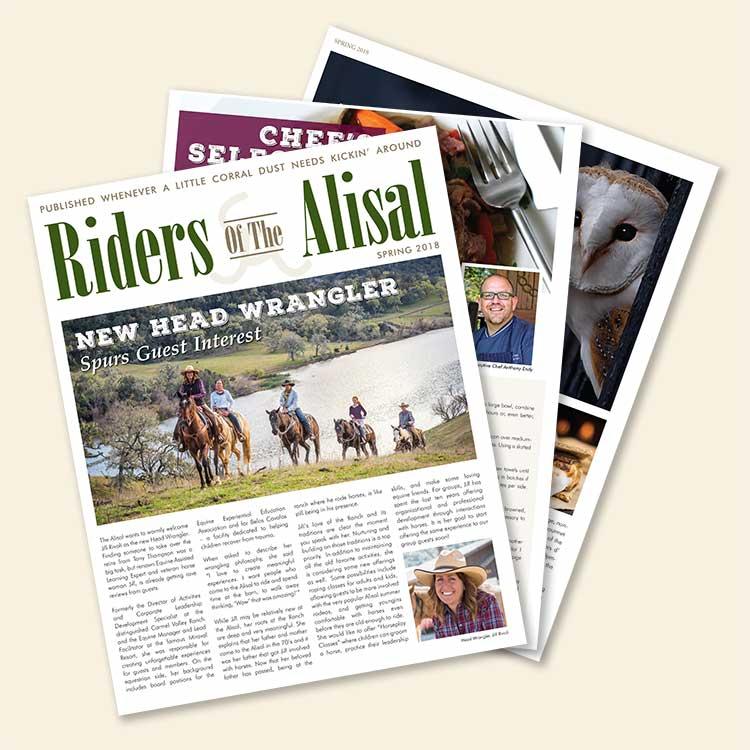 Riders of the Alisal magazine - Spring 2018