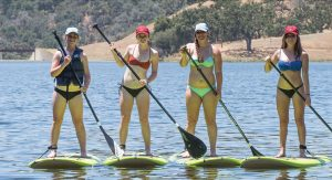 Standup Paddleboarding and Lake Activities at The Alisal Guest Ranch and Resort