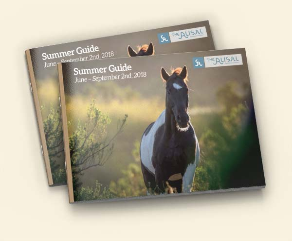 Alisal Guest Ranch Summer Activity Guide for 2018