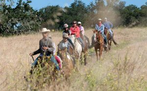 Scenic horseback ride at the Alisal Guest Ranch & Resort