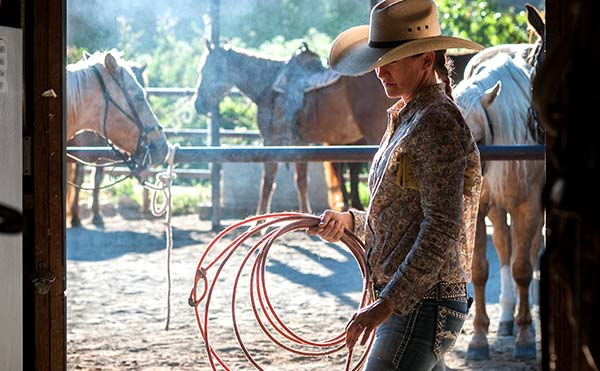 Roping with a Wrangler class at the Alisal Guest Ranch & Resort