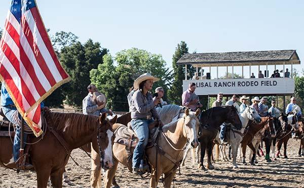Alisal Horseback Riding Drill Team Class
