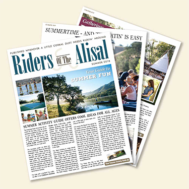 Summer Issue Riders of The Alisal 2018