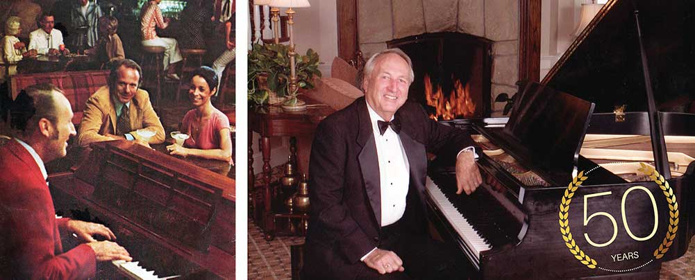Celebrating 50 Years with The Saloon Piano Man