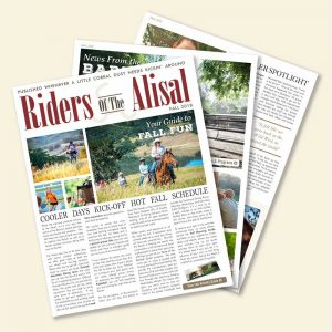 Riders of The Alisal – Fall 2018