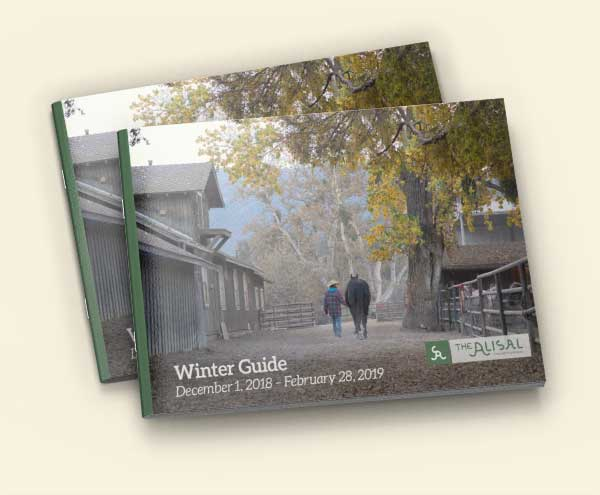 Winter 2018-2019 Activities Guide - Alisal Guest Ranch and Resort
