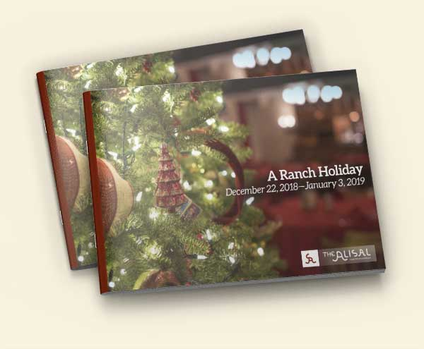 2018 Holiday Activity Guide for the Alisal Guest Ranch & Resort