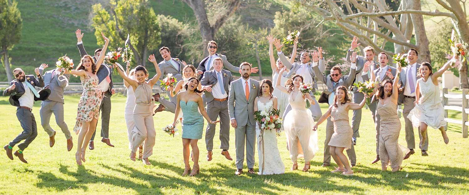 Larson wedding at the Alisal - Alisal Resort in Solvang California