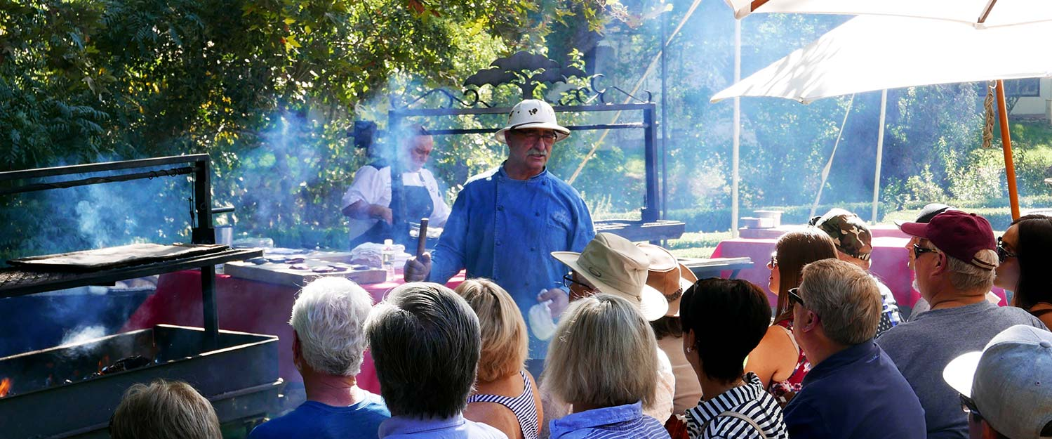 Chef Frank Ostini teaches BBQ Bootcamp at the Alisal Guest Ranch