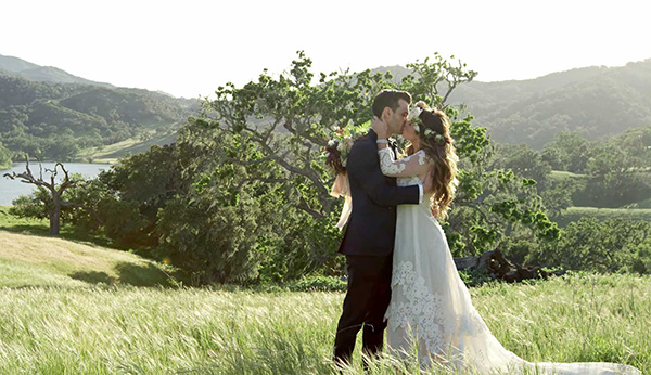 dream wedding at the alisal
