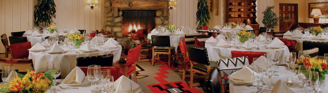 The Sycamore dining room at Alisal Guest Ranch & Resort