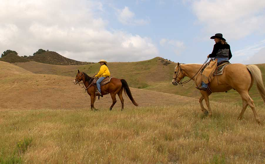 Two-Hour Private Horseback Ride at the Alisal