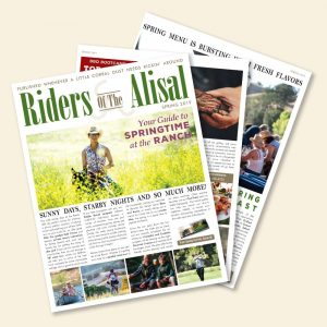 Riders of the Alisal Newsletter for Spring 2019