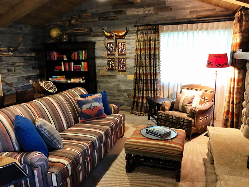 Rustic Americana cottage designed by Nathan Turner