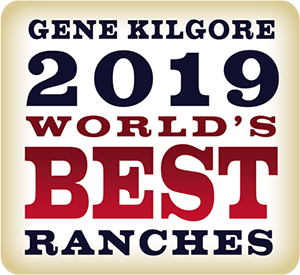 Gene Kilgore World's Best Ranches logo