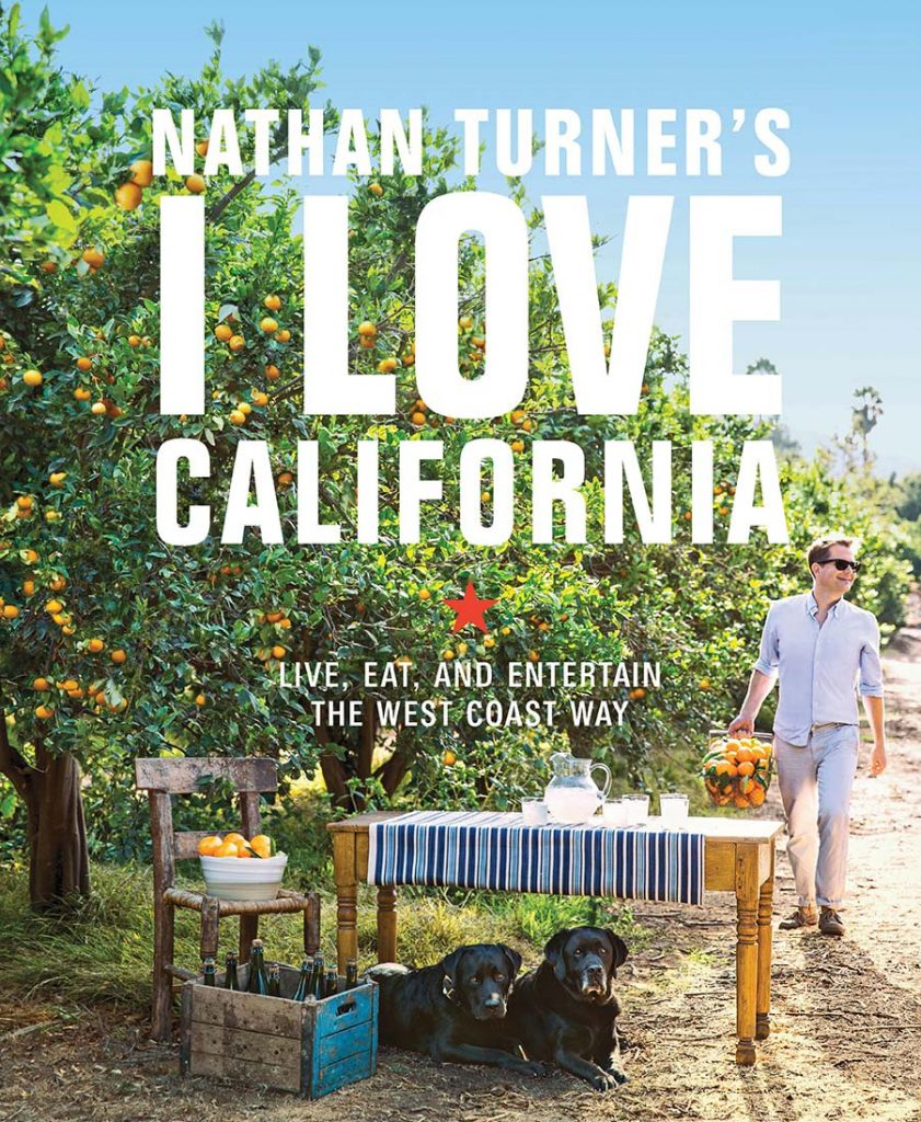 Nathan Turner's I LOVE CALIFORNIA book cover
