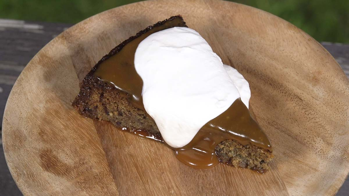 Sticky Mezcal Toffee Pudding