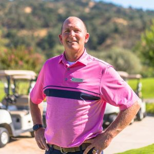 Alisal Ranch Golf Course Head Golf Professional, Jeff Raymond