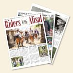The cover of the Fall 2019 issue of Riders of the Alisal magazine