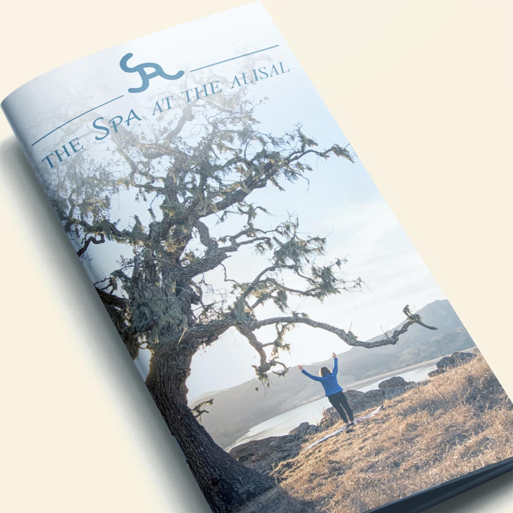 Spa at the Alisal brochure