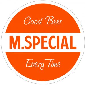 M. Special Brewery logo