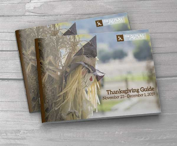 2019 Thanksgiving Activities Guide - Alisal Guest Ranch and Resort