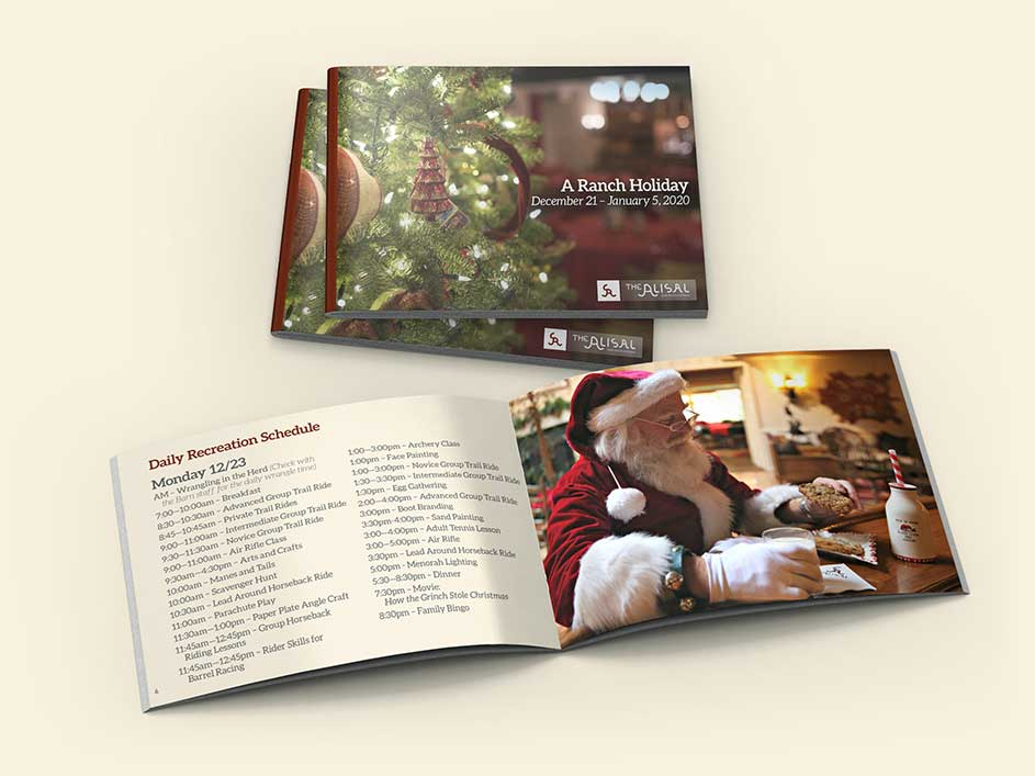 2019 Holiday Activities Guide - Alisal Guest Ranch and Resort