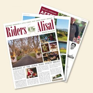 Riders of the Alisal – December 2019