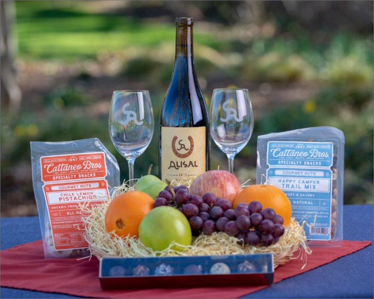 Santa Barbara Wine Country Basket