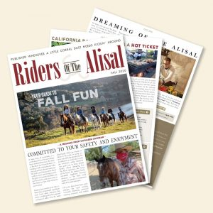 Riders of the Alisal – Fall 2020